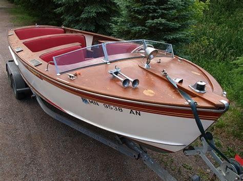 higgins wooden boat 1956 23ft higgins sports speedster classic wooden boats