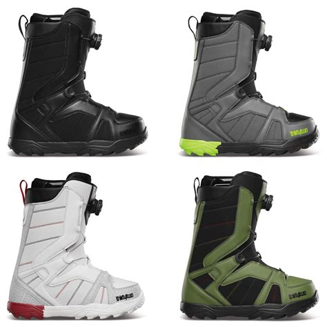 thirtytwo 32 stw boa mens snowboard boots new 2014 black