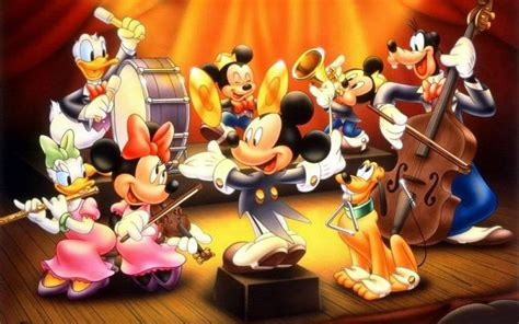 disney orchestra mickey mouse pluto  donald duck