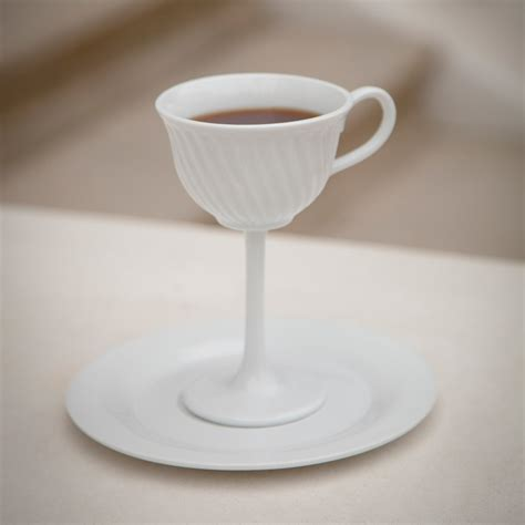 Tea Cup by High Tea Oversized Ceramic Tea Cup Stemware The Green