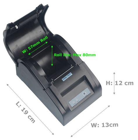 Printer Pos Thermal Receipt 57 5mm nt 5890t pos printer thermal driver buy printer