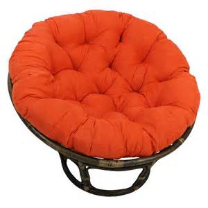 rattan papasan chair with microsuede cushion ebay