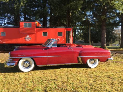 1953 Chrysler New Yorker For Sale by 1953 Chrysler New Yorker Deluxe Convertible For Sale