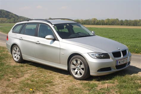 Bmw 320d E91 Tieferlegen by Orginaler E91 In Silber 3er Bmw E90 E91 E92 E93
