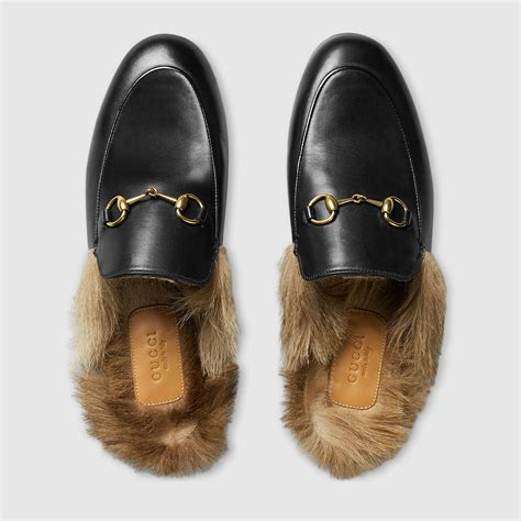 gucci house shoes gucci women princetown leather slipper 397749dkh201063 trending shoes