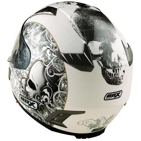 Motorradhelm Totenkopf by Box Bz 1 Skull Motorcycle Helmet Full Face Helmets