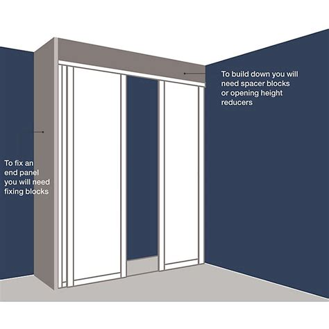 How To Fit Sliding Wardrobe Doors by How To Measure And Install Sliding Wardrobe Doors Help