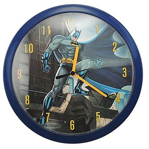 The Batman Clock Gives You Cool Credentials by Batman Wall Clock Ebay