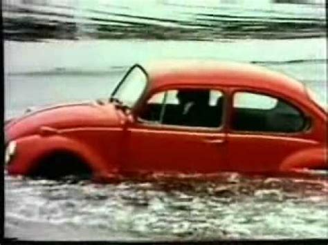volkswagen thing in water how does a vw beetle float just