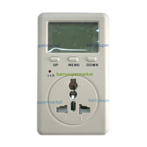 Watt Meter Wf D02a digital electricity energy meter tester monitor indicator voltag power balance energy saver