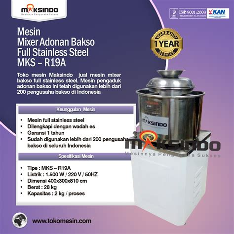 Mesin Blender Bakso jual mesin mixer bakso di blitar toko mesin maksindo