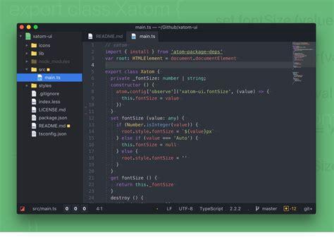 atom themes folder atom code ui