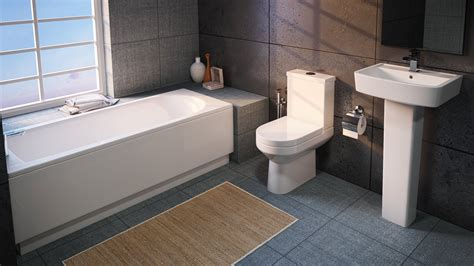 Modern Bathroom Suite by Aqva Modern Vancouver Small Bathroom Suite