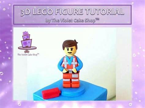 Lego Figure Tutorial | 3d lego figure tutorial cake tutorials templates