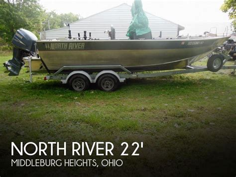 used aluminum fishing boats in ohio north river seahawk 22 for sale in middleburg heights oh