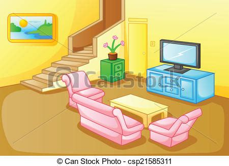 living room clip art different rooms in a house clipart 55