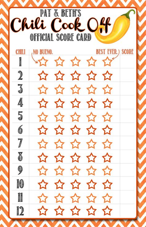 crossfit judges card template free chili cook award certificate template gallery