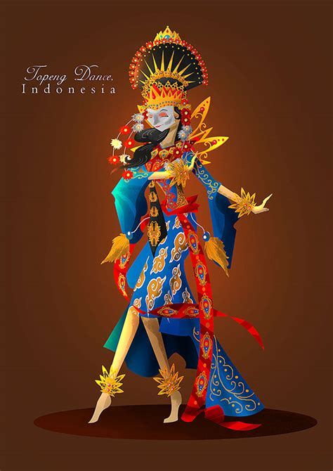design graphic indonesia a hundred faces of indonesia on pantone canvas gallery