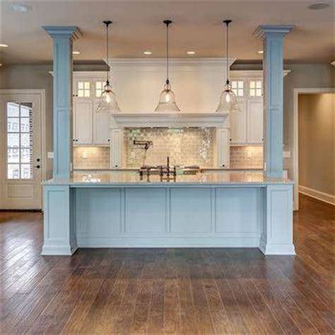 kitchen island columns kitchen island ideas with support posts structural post