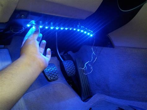 how to install interior led lights to a car method 1 diy