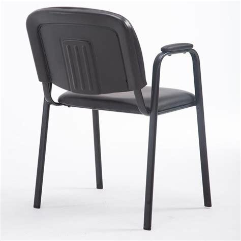 sedie conferenze sedia conferenze moby pelle con braccioli similpelle nera