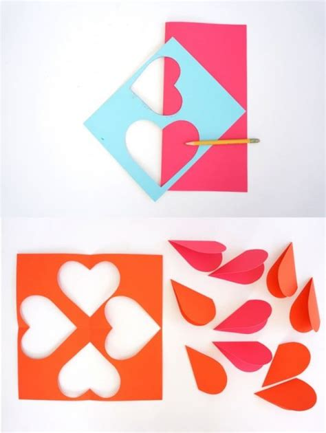 tutorial gambar ornamen ornamen hati dari karton tutorial lain lain kesekolah com