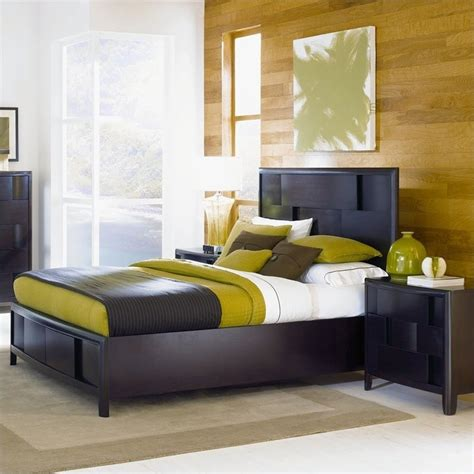 Nova Bedroom Set | magnussen nova platform bed 2 piece bedroom set in