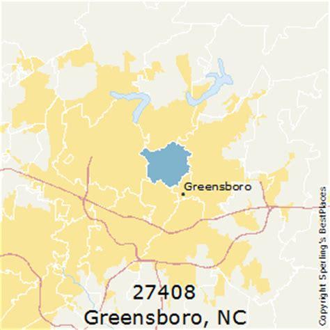 greensboro zip code map best places to live in greensboro zip 27408 carolina