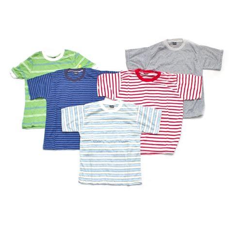 Size M Kaos Motif Anak Laki Laki by Kaos Anak Motif Garis Garis Bahan Kaos Size Xs To M