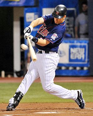 batting swing mauer wins al mvp the pendleton panther