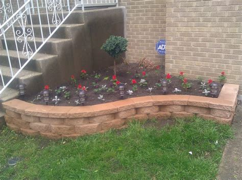 raised flower bed ideas raised flower bed for the front yard but different
