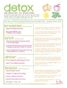 la vita organica one day organic detox meal plan