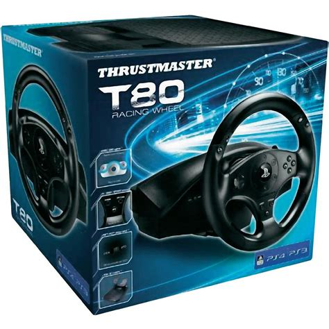 volante playstation 4 volant thrustmaster t80 racing wheel playstation 3