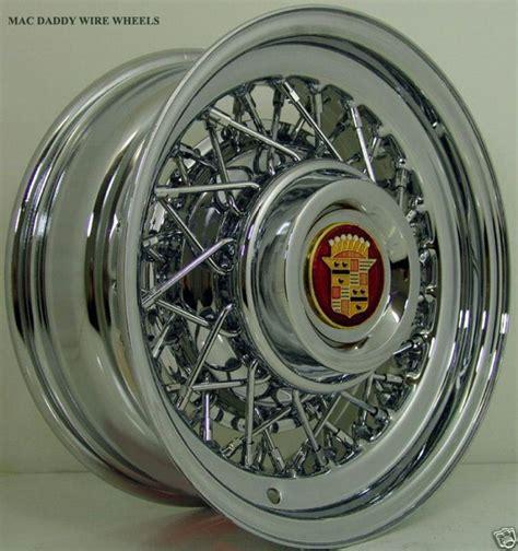 Cadillac Wire Rims by 1949 53 54 55 56 59 60 61 64 65 68 Cadillac Wire Wheels Ebay