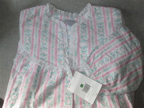 Flanel Size L new lanz of salzburg flannel nightgown size l large nwt sleepwear robes