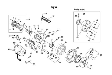 300 parts diagram buy ridgid 300 replacement tool parts ridgid 300 pipe