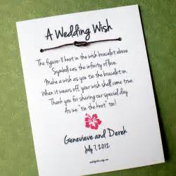 Wedding Quotes For Best Friend Hawaii Island A Wedding Wish Infinity Love Knot Wish