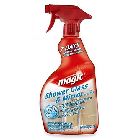 buy magic 174 glass shower cleaner from bed bath beyond