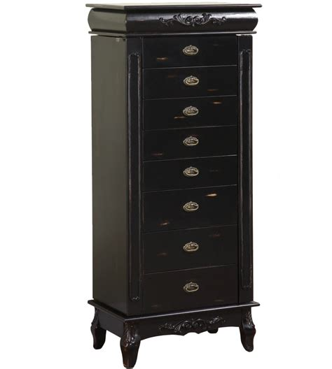 armoire drawers 8 drawer jewelry armoire morris in jewelry armoires