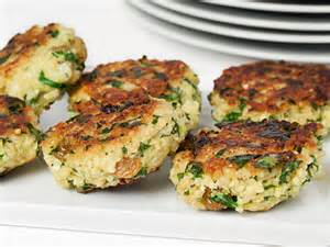 Millet recipes millet fritters with spinach