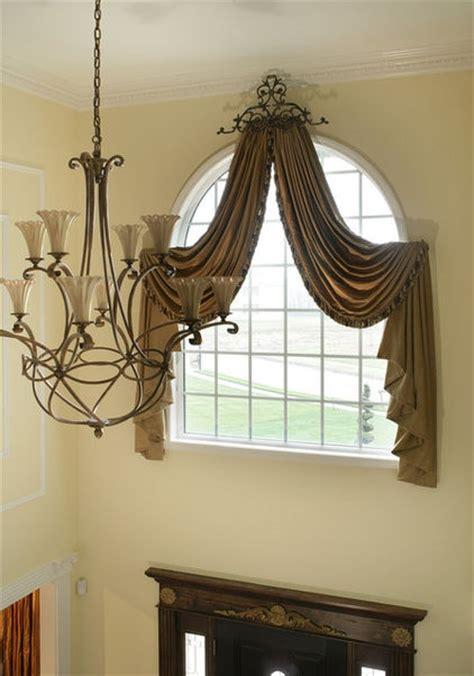 scarf curtain window treatments