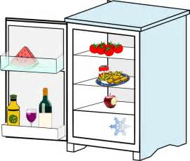 mini refrigerator black friday fridge with food jhelebrant clip art at clker com vector