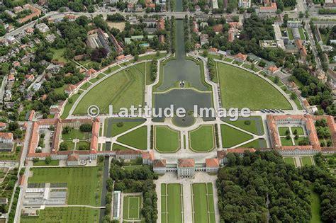 latitude image nymphenburg palace aerial photo