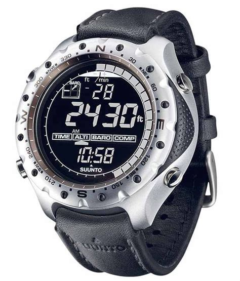 Suunto Best Seller Product suunto x lander black outdoor with leather for buy at best price