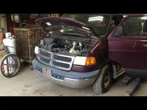 stk# 2a7669 2001 dodge ram van 1500 3.9l youtube