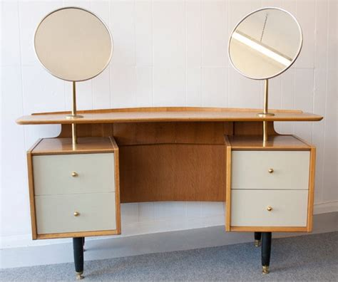bedroom vanity furniture 1950 s g plan e gomme dressing table 163 195 00 via etsy