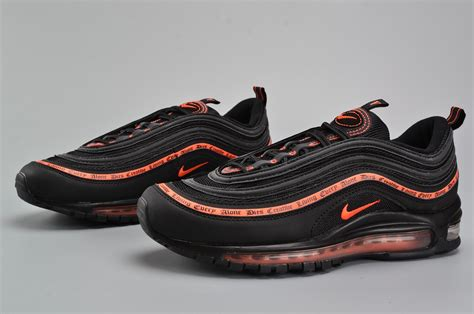 Undftd X Nike Air Max 97 Black undftd x nike air max 97 og undefeated black team orange for sale