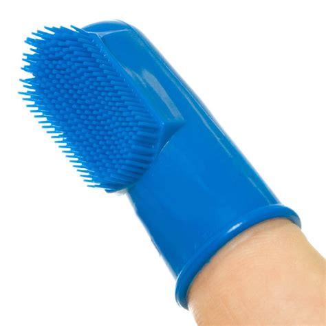 finger toothbrush finger toothbrush set of 6 for all breeds treat smart