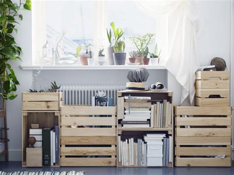 Caisse Ikea Bois by Ikea Hacking Les Caisses En Bois Knagglig Joli Place