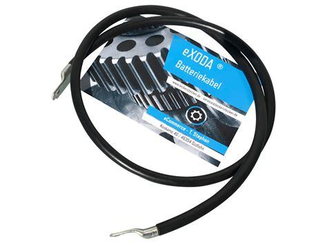 Kabel Strum 8 Awg exoda batteriekabel 35 mm2 200cm mit ring 246 sen m8 rot auto